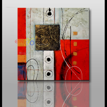 Factory direct wholesale supplies on canvas famous abstract art paintings