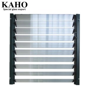 Factory price glass shutter jalousie window louver glass