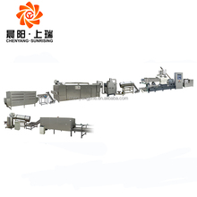 Factory price breakfast cereal corn puff flakes making machines