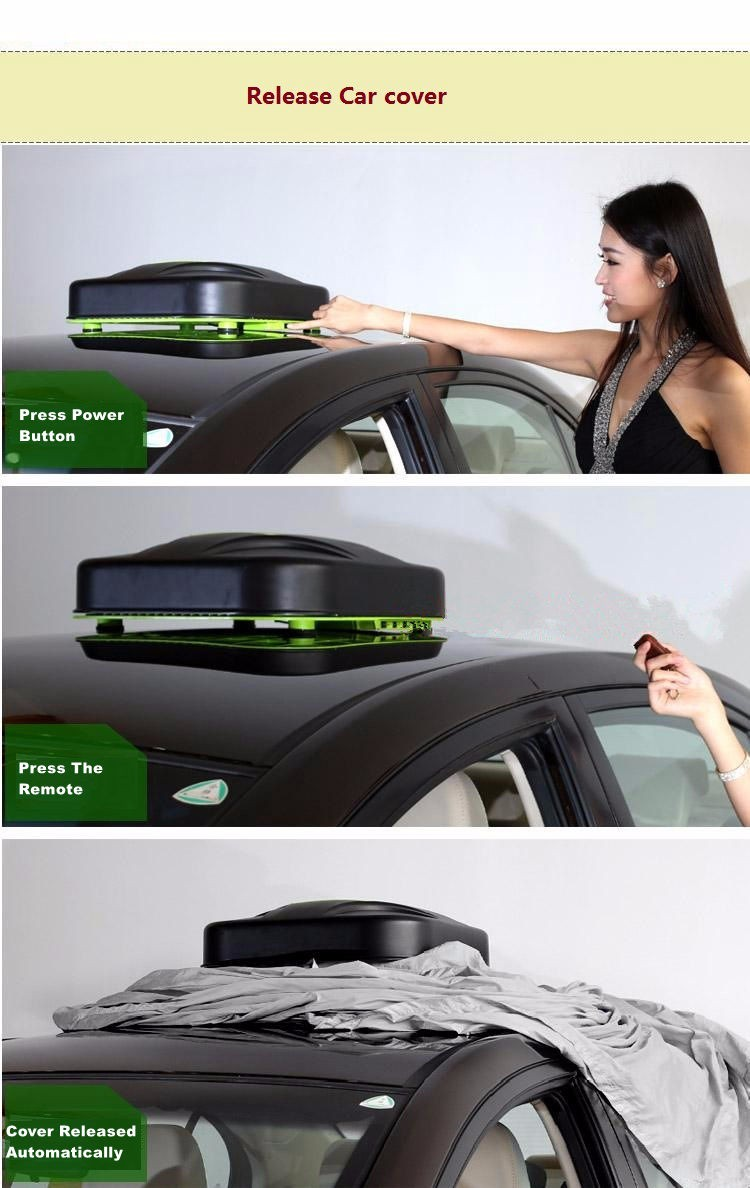 Heated Waterproof Hail Proof Car Cover Automatic Covers