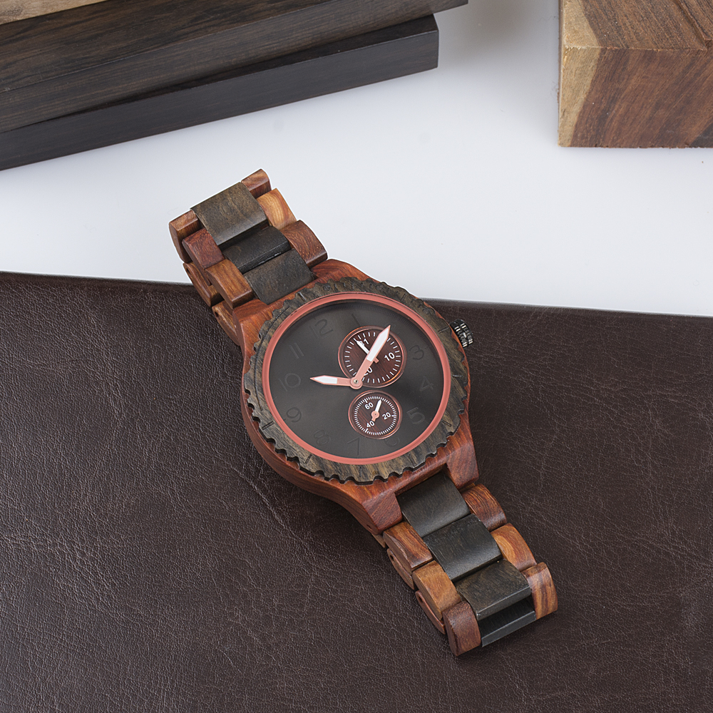 2018 Wholesale Fashion Bamboo Watch Men and women Custom Logo Wood Wrist Watch Cheap Handmade wood Strap Wooden Watches