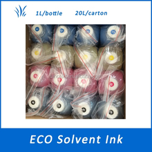 eco solvent ink for DX5 DX7 and DX4 head