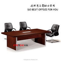 Used Office Furniture Laminated Top Conference Table Design DH204