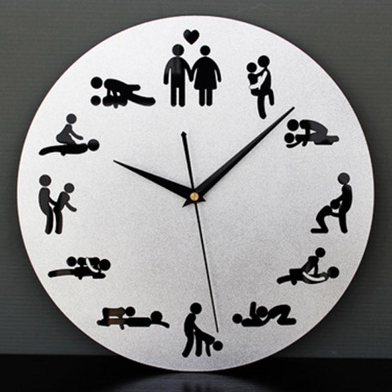 Wholesale 2016 New Modern Clock Novelty Silent Wall Clock