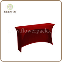 fitted stretch table cover
