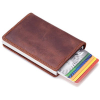 Top selling RFID blocking aluminum card holder case secure credit card case