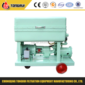 Used Plastic Fuel Oil Water Separator Impurities Recycling Machine