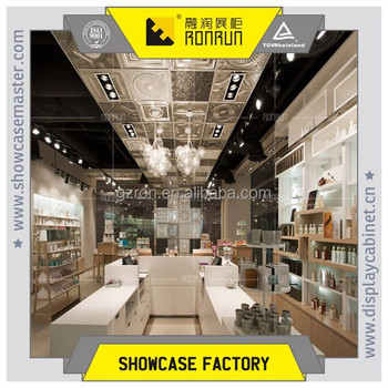 Ladies Cosmetic Makeup Boutique Shop DecorationDisplay Showcase And Gorgeous Boutique Shop Design Decoration