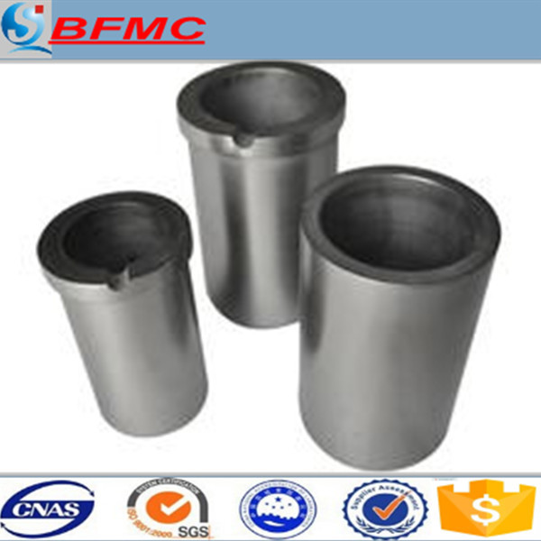 China supplier graphite crucibles for aluminium melting furnaces