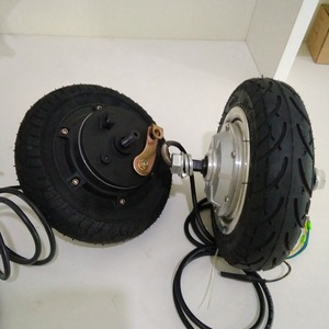 Hall sensor controller electric wheel 500w hub motor