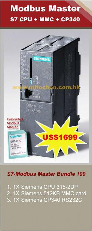 Modbus Driver For Siemens S7-315-2dp,Mmc,Cp340 Bundle - Buy Modbus Driver  Cpu 315 Product on Alibaba com