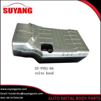 Aftermarket steel engine hood for Volvo FH FM auto spare parts