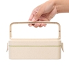 Eco Friendly Leakproof Biodegradable School Bamboo Fiber Bento Kids Lunch Box