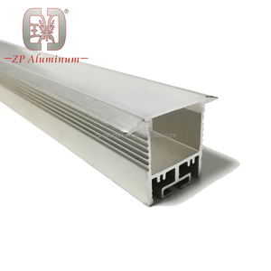 LED strip light aluminum heat sink/aluminum channel for LED strip light/aluminum recessed profile with diffuser