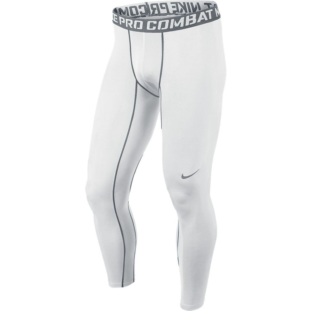 fe857f73ee Buy Nike Mens Pro Combat Core Compression 2.0 Tights White/Cool Grey ...