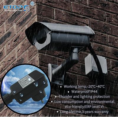 Montagem na parede 12W EUA plug power adapter dc 12v 1a entrada 110 -- 240v com CUL/ FCC