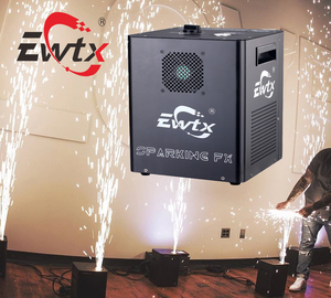 EWTX low price mini wedding popular stage equipment sparkler 500w cold spark fountain machine for wedding use