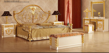 New Item- bedroom furniture, gold & white luxury bedroom  set,MOQ:1PC(B6026), View bedroom set, BISINI Product Details from Zhaoqing  Bisini Furniture ...