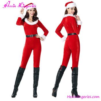 Winter Warm Red Jumpsuit Women Sexy Christmas Santa Claus Costume Girls  sc 1 st  Alibaba & Winter Warm Red Jumpsuit Women Sexy Christmas Santa Claus Costume ...