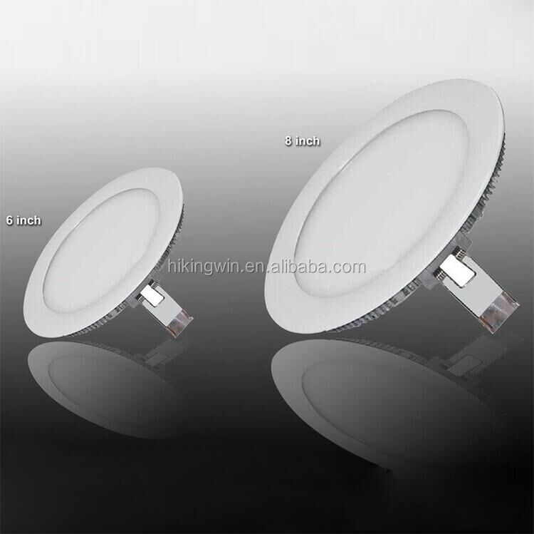 Indoor ceiling decor ultra slim l recessed ceiling panels round led panel light