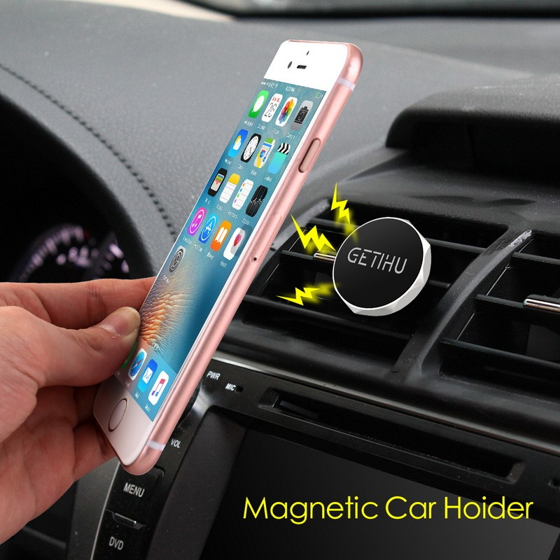 e1708bcab6053d New Car Holder Mini Air Vent Mount Magnet Magnetic Phone Mobile Holder  Universal For iPhone for