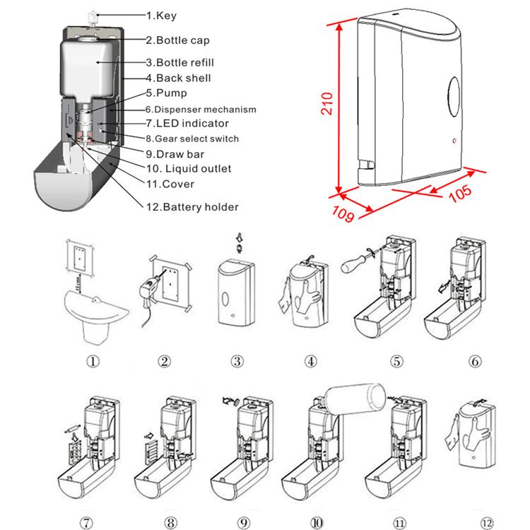 Best Automatic Lysol Automatic Hand Soap Dispenser Buy
