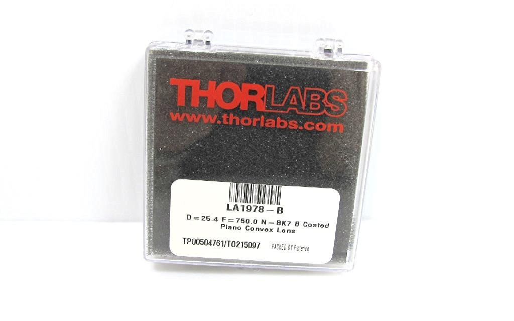 Thorlabs C330TM-C Mounted Geltech Aspheric Lens with RMS Adapter