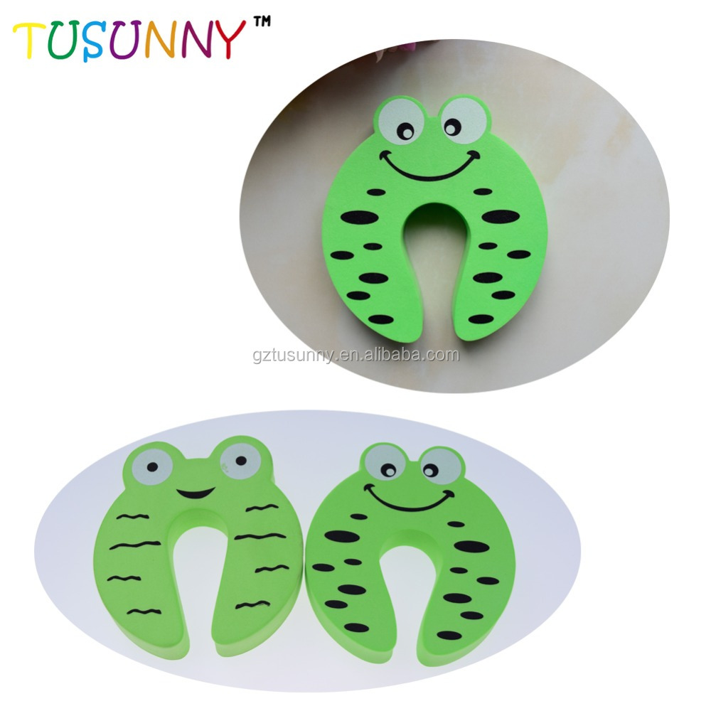 Different designs plastic door protector for baby security