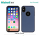 Soft Smooth Rubber Silicone Phone Cover Slim Mobile Case Shell for iphoneX