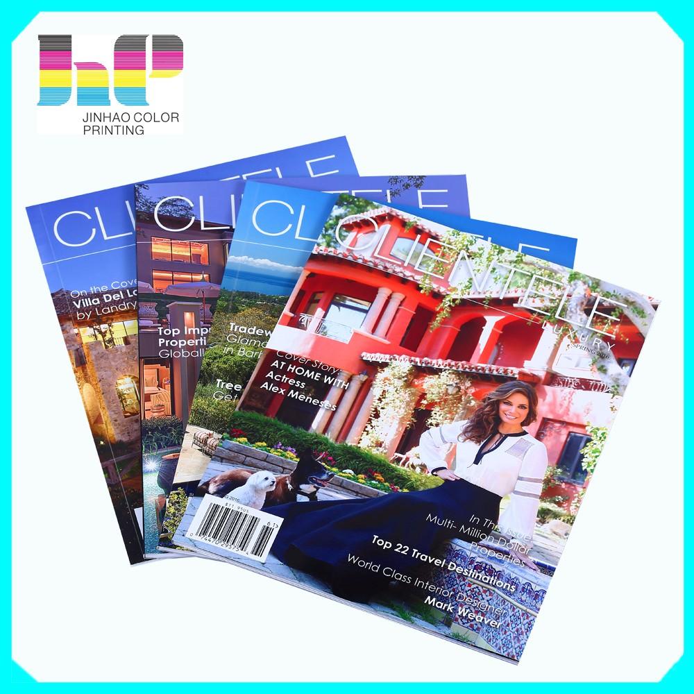 Uk Adult Magazine Printing A4 Custom Printing Magazine