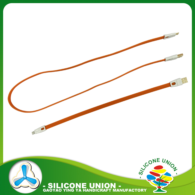 New design mobile phone cable protector silicone data cable line