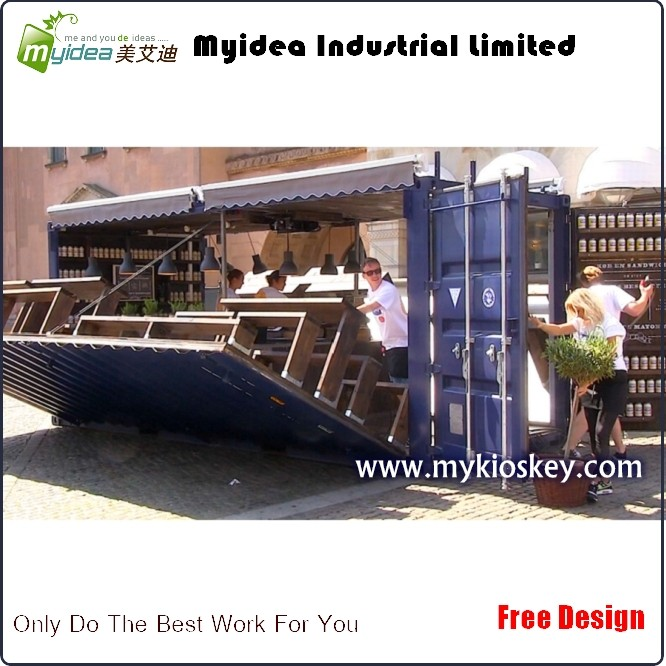Outdoor Kitchen For Sale: Custom Outdoor Kitchen Shipping Container Restaurant For