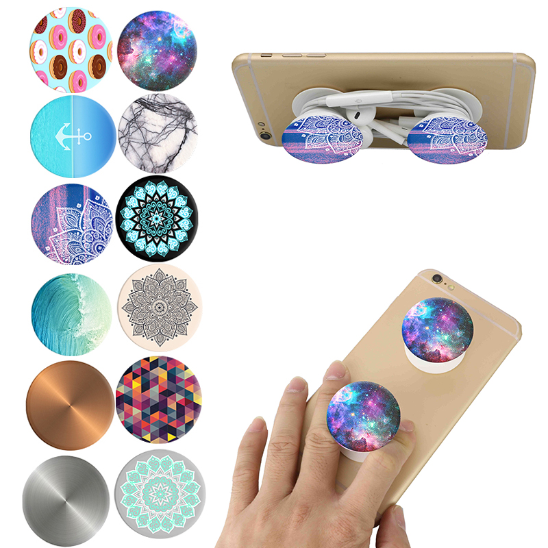 Wholesale pop socket customized logo pop socket phone holder and grip for mobile