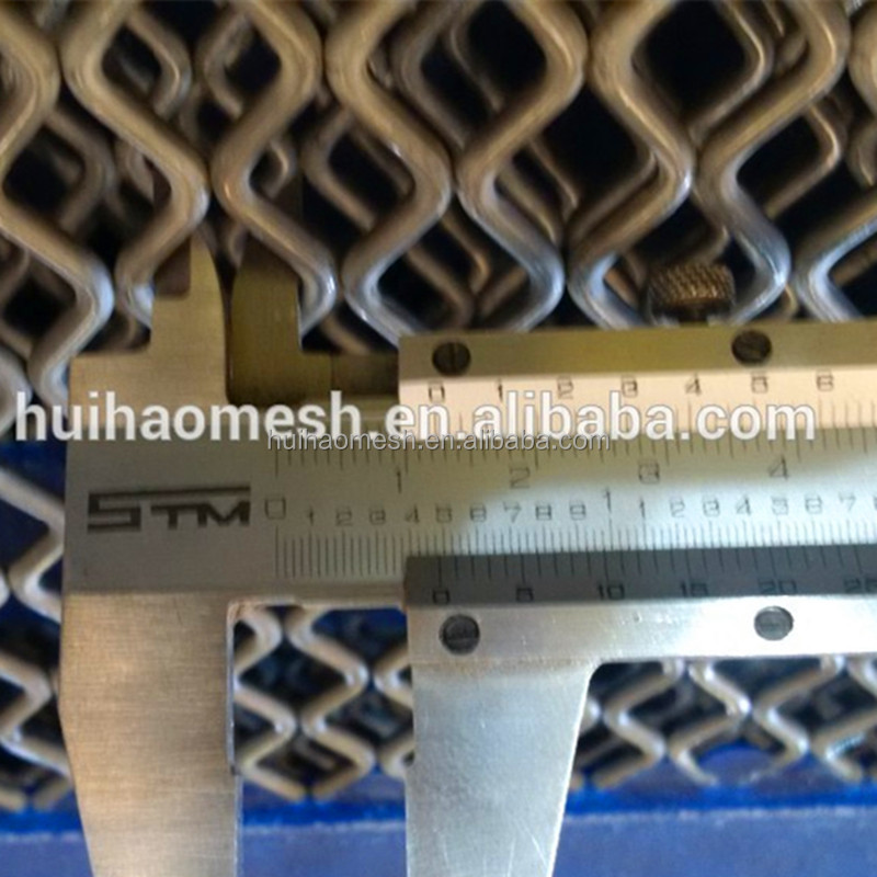 Diamond Shaped Opening Self cleaning Screen Mesh with Poly Cross