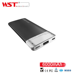 best sale WST-DP662 powerbank 6000mah power banks for cell phones high quality power bank for smartphone