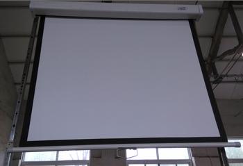 3d Retractable Screen Manual Hd Projection Screen/pull Down Projector  Manual Screen Automatic Self Lock   Buy Cheap Retractable Green Screen 3d  ...