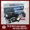 Wholesale slim ballast whit h4 hid xenon 12v 35w h4 xenon hid kit ,color 4300k~30000k,warranty 1 year