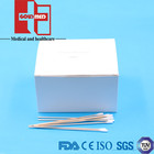 Cotton swab wooden stick/Cotton tipped applicators/Sterile cotton tip applicators