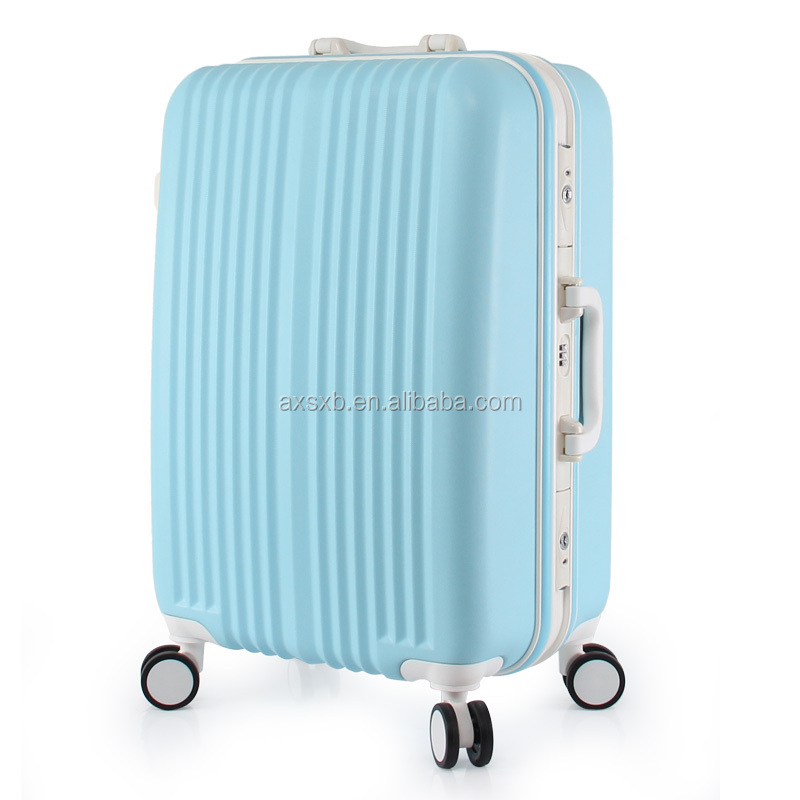 top quality ABS royal hard case travel trolley luggage bag
