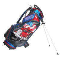 Mini Promotional Leather Golf Stand Bag