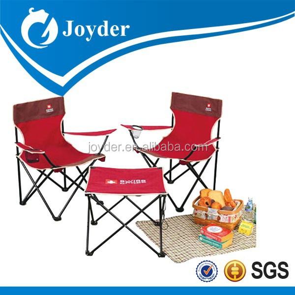 2015 china metal furniture with folding chair and table set
