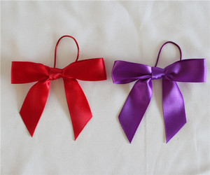 cheap red wine bottle bow tie/wholesale mini bow ties craft/customiezed adjustable bow tie ribbon