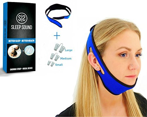 Buy Anti Snoring Chin Strap and Anti Snoring Nose Vents