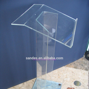 Modern design,cheap hot delling Acrylic Pulpit/Lucite Podium/Acrylic Lectern
