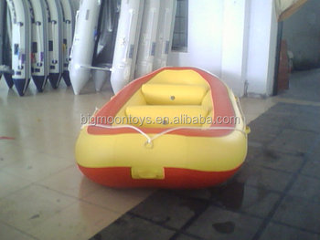 16ft pvc inflatable raft/ 12 people inflatable rafting boat/ inflatable river boat for sale