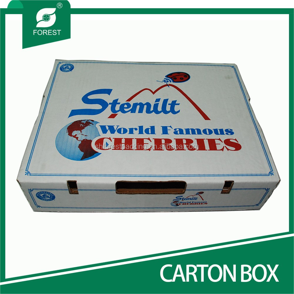SMALL ORDER ACCEPTED CORRUGATED VEGETABLES CARTON BINS WITH WAX-DIPPED