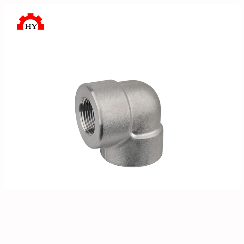 Hot selling stainless steel 304 90 degree elbow threaded fitting