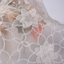 3d beaded embroidery bride lace sequin fabric