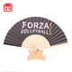 Customized fabric hand fan Promotional Bamboo Hand Fans Wholesale