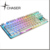 Colorful LED backlit usb wired cherry MX waterproof mechanical gaming keyboard